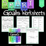 SMART Goals Worksheets (Ink Friendly Included!)