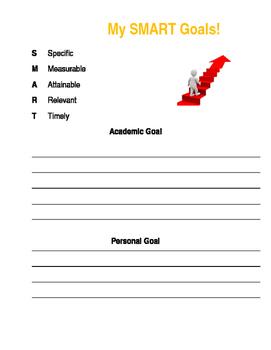 SMART Goals Writing
