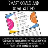 SMART Goals and Goal Setting Sheet