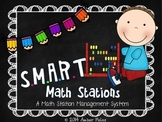 SMART Math Stations - Bright Multi with Pencils Theme