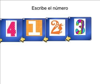 SMART Notebook 4-digit Numbers Practice