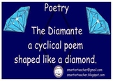 SMART Notebook - Diamante - Diamond Shape Poetry