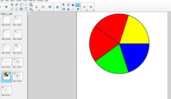 SMART Notebook Fraction Circles