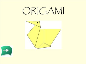SMART Notebook Japanese Origami Bird