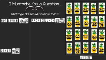 SMART Notebook Lunch Count & Attendance