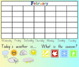 SMART Notebook Morning Routine Calendar