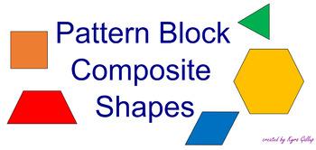 SMART Notebook - Pattern Block Composite Shapes