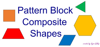 SMART Notebook - Pattern Block Composite Shapes