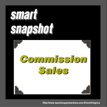 Commission Sales - SMART Notebook Snapshot