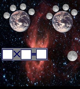 SMARTBoard Math - Space Multplication Arrays
