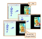 SMART Notebook: Word Families With Talking Friends