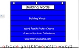 SMART Notebook Word Family Pocket Chart