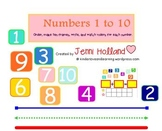 SMART Numbers 1 to 10: Use the SMART Board to Teach Numbers 1 to 10