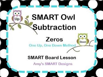 SMART Owl Subtracting Across Zeros SMART Lesson