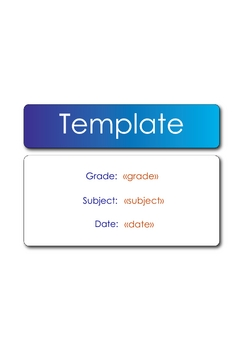 SMART Response 15 questions Multiple Choice Template