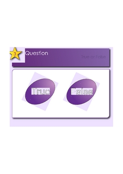 SMART Response Template_Multiple Choice and TF Questions