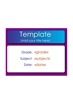 SMART Response Template_Numeric Questions