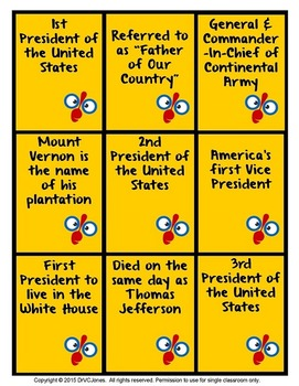SPOONS: A Game of United States Presidents