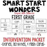 SMART START WONDERS INTERVENTION READING NO PREP  FLASH CA