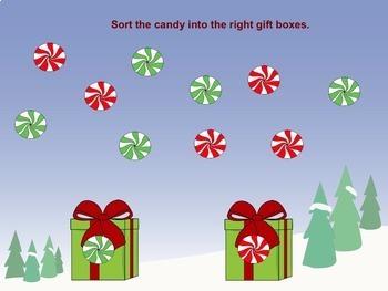 SMART Board Sorting for Christmas