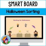 Sorting for Halloween Smart Board Activity