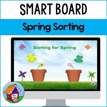 SMART Board Sorting for Spring