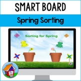 SMART Board Sorting for Spring