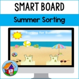 Sorting for Summer Smart Board Activity