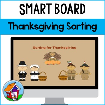 SMART Board Sorting for Thanksgiving