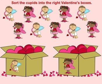 SMART Board Sorting for Valentine's Day