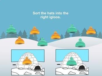 SMART Board Sorting for Winter