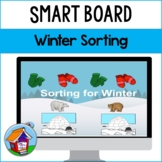 Sorting for Winter Smart Board Activity