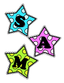 SMART Stars decorations