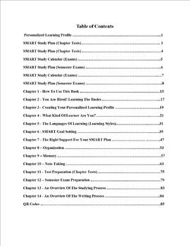 SMART Study Skills - Student edition - digital version