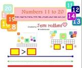 SMART Teens: Use the SMART Board to teach Teen Numbers