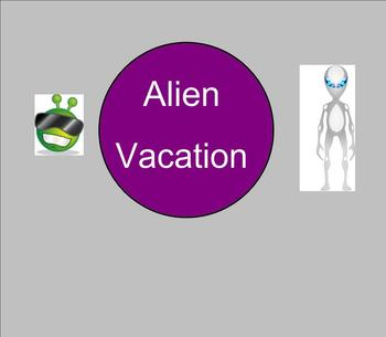 SMART board: Alien Vacation: Math: Fractions: Smartboard