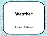 SMART board Weather Lesson