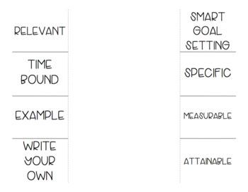 SMART goal foldable