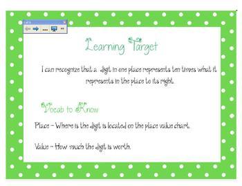 SMART lesson 4.NBT.1 (Place Value)