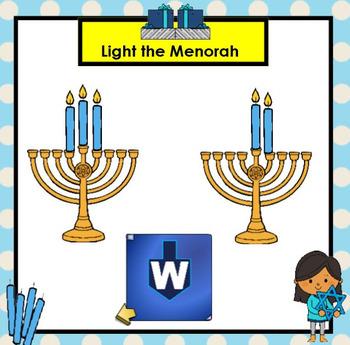 SMARTBOARD ABC's:  Hanukkah Edition