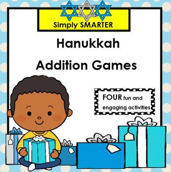 SMARTBOARD ADDITION GAMES:  Hanukkah Edition