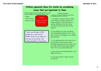 SMARTBOARD - Fiction to Life Writer's Workshop
