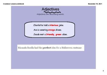 SMARTBOARD - Grammar lessons Grades 3-5