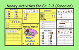 SMARTBOARD Interactive Money Activities for Gr. 2-3  (Canadian Coins)