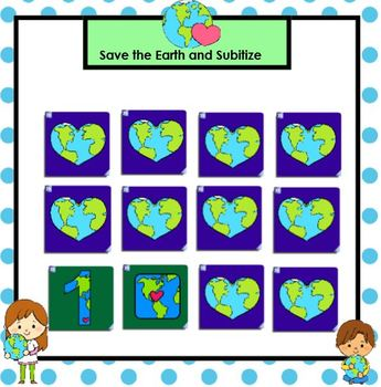 SMARTBOARD Math Games:  Earth Day Edition