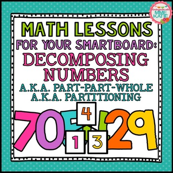 SMARTBOARD Math Lessons: Decomposing Numbers, Part-Part-Whole, Number Bonds