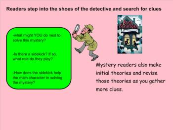 SMARTBOARD Mystery Book Club Reader's Workshop