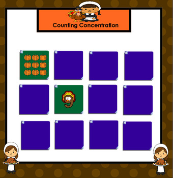 FREEBIE: SMARTBOARD Thanksgiving Number Games