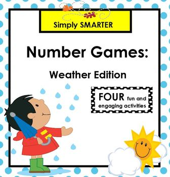 SMARTBOARD Number Games:  Weather Edition