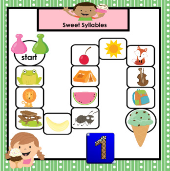 SMARTBOARD PHONICS GAMES:  Ice Cream Edition